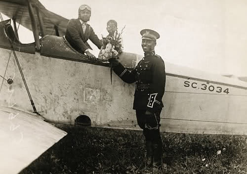 community.babycenter.com Bessie Coleman and Captain Edison C. McVey