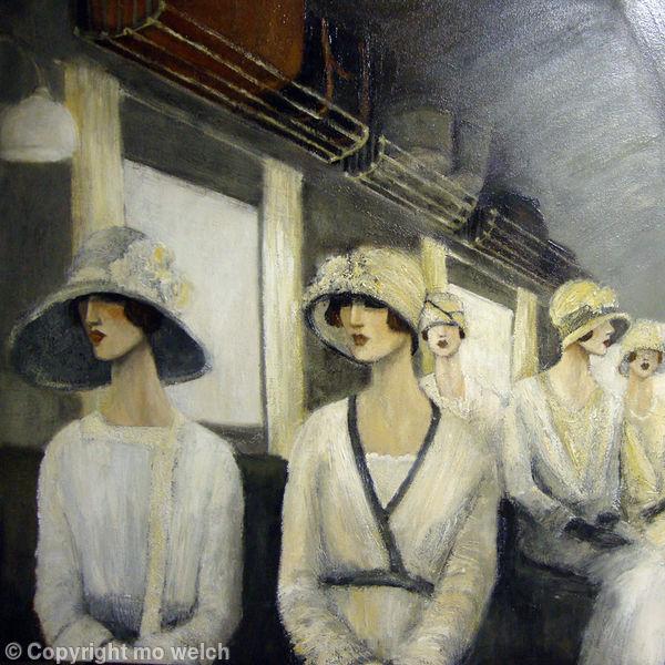 Art deco paintings 1920 - 219