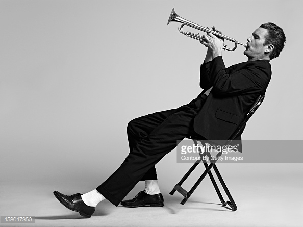 TORONTO, CANADA - OCTOBER 23:  Ethan Hawke photographed as the jazz muscian Chet Baker for his role in the movie BORN TO BE BLUE which is currently in production.  (Photo by Charlie Gray/Contour by Getty Images)