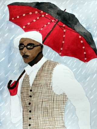 The Umbrella Man by Cindy Adelle Richard