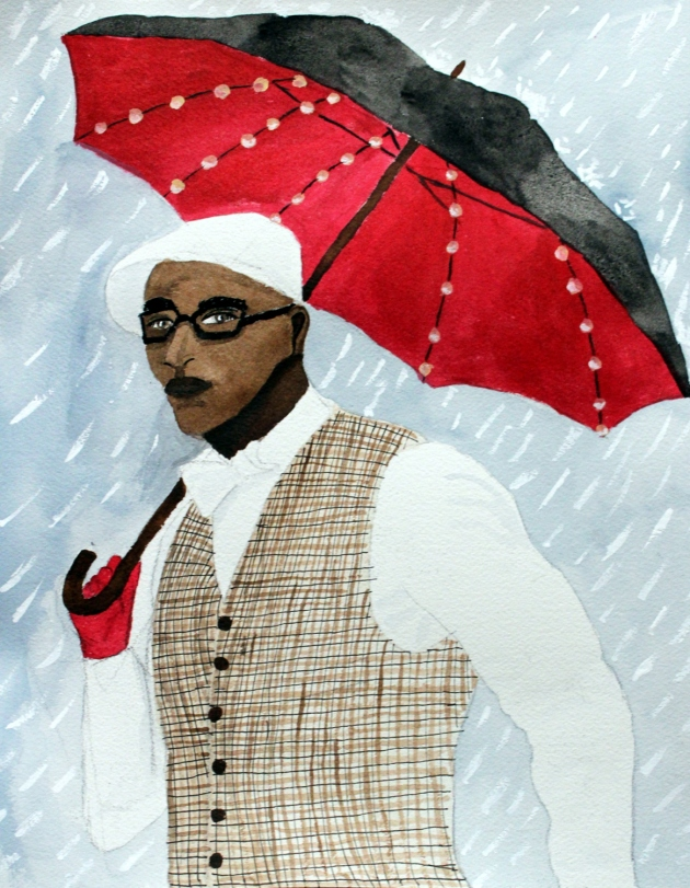 The Umbrella Man by Cindy Adelle Richard